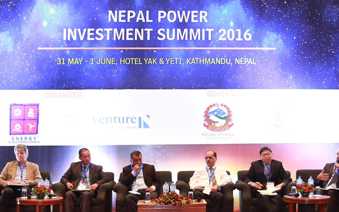 Nepal Power Investment Summit 2016